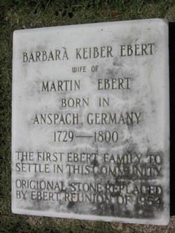 Eva Barbara <I>Korber</I> Ebert