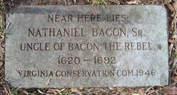 Nathaniel Bacon, Sr