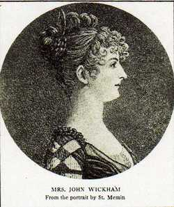 Elizabeth Selden <I>McClurg</I> Wickham