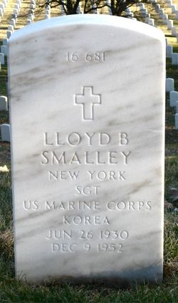 SGT Lloyd Buchanan Smalley