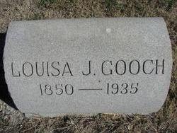 Louisa Josephine <I>Butler</I> Gooch