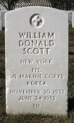 PFC William Donald Scott