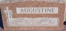 Clara M <I>Schuster</I> Augustine