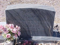 Lola Maybell <I>Bagwell</I> Anderson