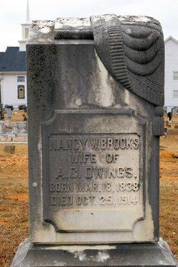 Nancy W <I>Brooks</I> Owings