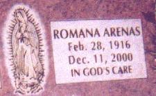 Romana <I>Rodriguez</I> Arenas