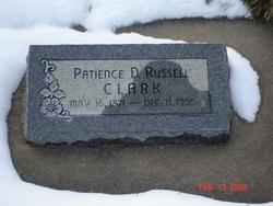 Patience Delila <I>Russell</I> Clark