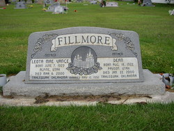 Leota Mae <I>Vance</I> Fillmore