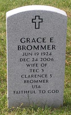 Grace E <I>Lightcap</I> Brommer