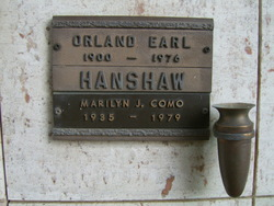 Marilyn June <I>Hanshaw</I> Como