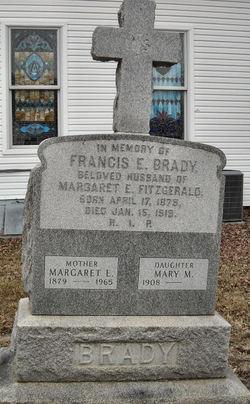 Margaret E. <I>Fitzgerald</I> Brady