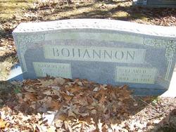 Pearlie Belle <I>Buckner</I> Bohannon