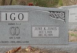 June Kathryn <I>Jones</I> Igo