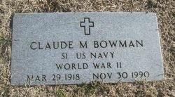 Claude M. Bowman