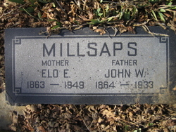 "Eleanor Eloise ""Elo"" <I>Burrows</I> Millsaps"