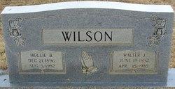 Hollie R. <I>Burrow</I> Wilson