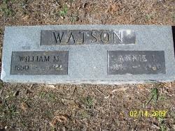 Annie Isabelle <I>Manahan</I> Watson