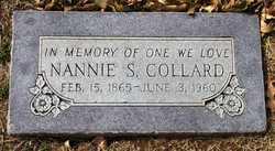 Nannie Safronia <I>Jamison</I> Collard