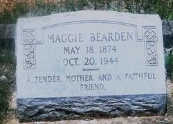 """Margaret """"Maggie"""" <I>Sanders</I> Bearden"""