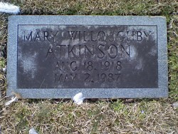 Mary <I>Willoughby</I> Atkinson