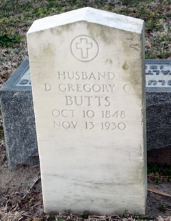 Rev Daniel Gregory  Claiborne Butts