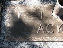 William Bertrand Acker