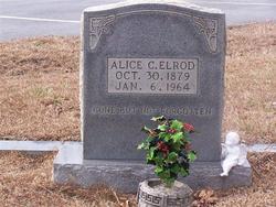 Alice Victoria <I>Cagle</I> Elrod