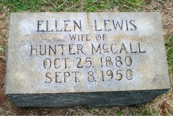 Ellen <I>Lewis</I> McCall