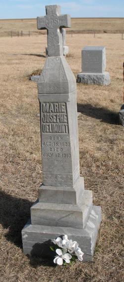 Marie Josephe <I>Deprez</I> Delimont