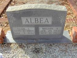 Elsie Lucille <I>Lindsay</I> Albea