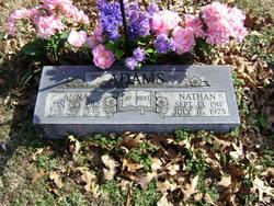 Anna E <I>Sutton</I> Adams