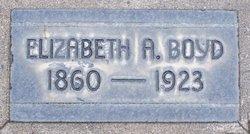 Elizabeth A <I>Gilkey</I> Boyd