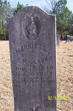 Harriet Blakeney <I>Evans</I> Clark