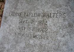 Erdine L <I>Taylor</I> Walters