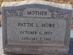 Pattie L Howe
