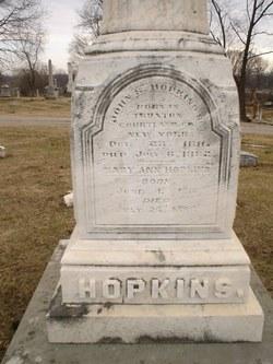 Mary Ann <I>Parrett</I> Hopkins