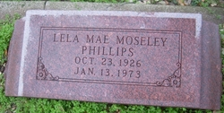 Lela Mae <I>Moseley</I> Phillips