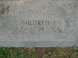 "Mildred Evelyn ""Frankie"" <I>Hall</I> Coon"
