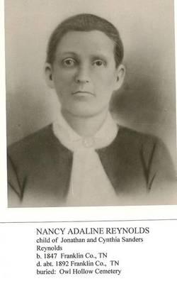 Nancy Adaline <I>Reynolds</I> Grant