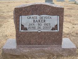 Grace Devota <I>Hunt</I> Burk Baker