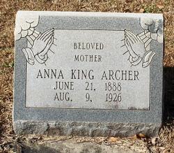 Anna Bennett <I>King</I> Archer