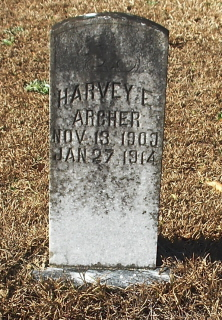Harvey E Archer
