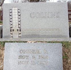 Ophelia B <I>Bailey</I> Collins