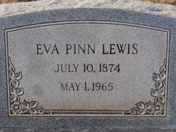 Eva <I>Pinn</I> Lewis