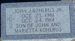 John J. Kohlrus, Jr