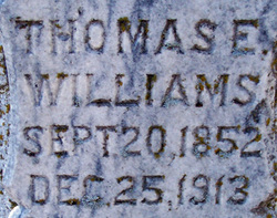 Thomas Elridge Williams