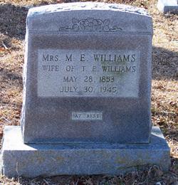 Martha Ellen <I>DeLoach</I> Williams