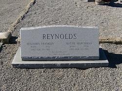 Mattie <I>Marchman</I> Reynolds