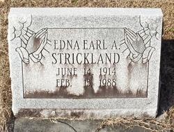 Edna Earl <I>Archer</I> Strickland