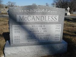 Marion S <I>McCandless</I> Gayer